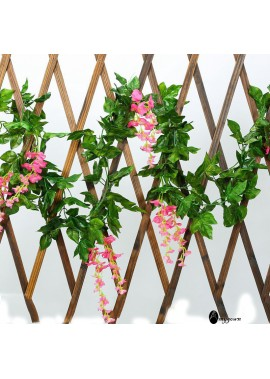 Simulation Wisteria Flower Vine Wedding Flower Decoration Fake Flower Wisteria Flower