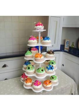 2PCS Five-Layer Cake Stand 31*31*45CM