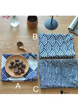 10pcs Traditional Japanese Style Placemat