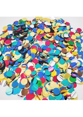 Shiny Round Confetti Multicolored Sequins Wedding Party Decoration Hand Throw Sequins