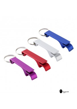 10PCS Creative Multifunctional Colorful Bottle Opener 6*1.5CM