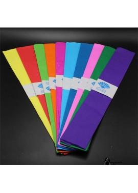 3PCS Colored Crepe Paper 50*100CM
