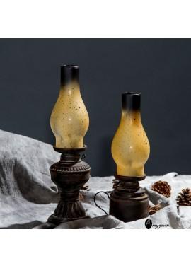 Nostalgic Classic Vintage Kerosene Lamp Resin Model 9*32CM