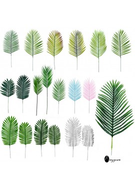 20pcs Simulation Of Loose-Tailed Leaves