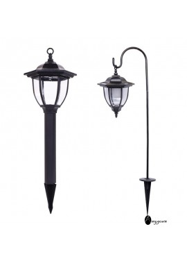 Solar Lamp Outdoor Landscape Retro Courtyard Lawn Lamp 72CM