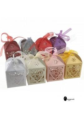 50pcs Mini Suitcase Favor Box Party Favor Candy Box Gift Box