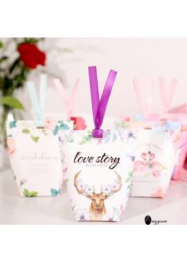 10pcs Sugar Box Gift Box Jewelry Packaging Box Carton