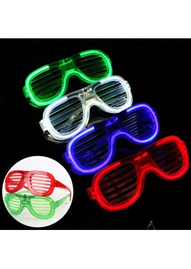 Red Blue Green White Blinds Cold Light Glasses 15.5X5.6X12.8CM
