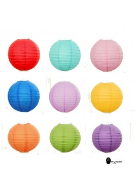 5pcs Decorative Paper Lantern 8-Inch