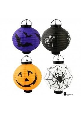 5PCS Halloween Decoration Halloween Pumpkin Lantern 20CM