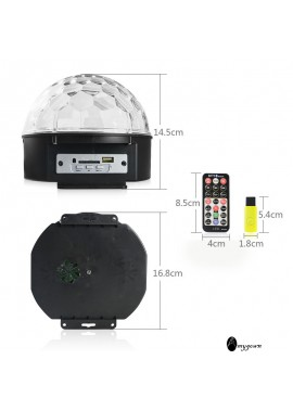Remote Control Stage Lights Height 14.5CM Bottom Diameter 16.8CM