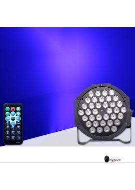 Party Lights Remote Control 36 Led Par Lights 20CM High And 20.2CM Long
