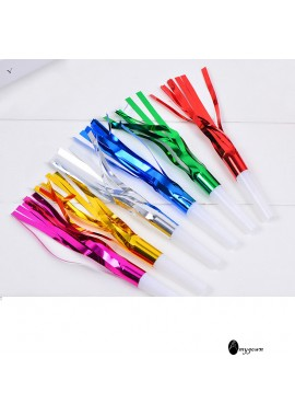 5PCS Whistle Party Gatherings Blowpipe Total Length 6.5CM Diameter 1CM Total Length 16CM