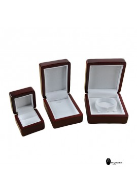 "Fashionable Flannel Ring Box Measures 2.36""L x 2.36""W x 1.77""H/6 x 6 x 4.5CM"