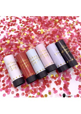 12PCS Hand-Held Small Fireworks Wedding Party Supplies Confetti Cannons 60CM