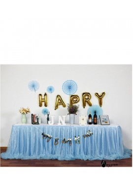 Dessert Tablecloth Wedding Set Table Yarn Table Skirt