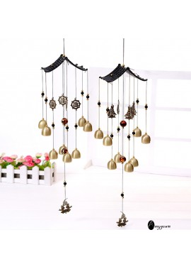Shell Wind Chimes Generous Simple And Beautiful Wind Chimes Total Length 610MM