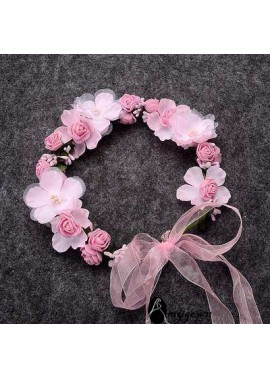 Fashion Decorative Flower Wreath Lace