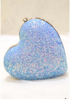 2020 New Single Shoulder Diagonal Heart-Shaped Chain Handbags T901556242555