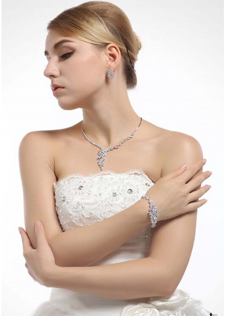 Ice Linghua Zircon Dinner Bracelets T901556266024