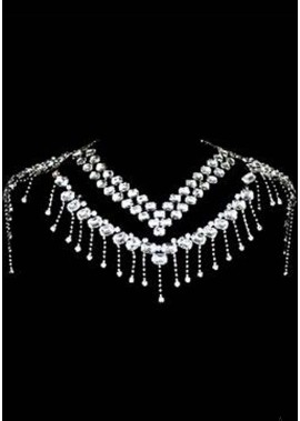 Elegant Rhinestone Shoulder Chains T901556431189
