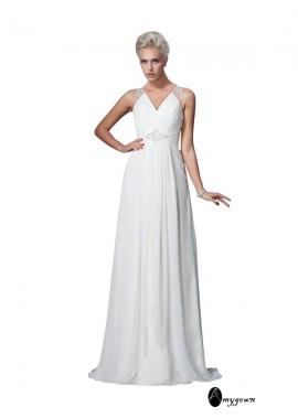 AmyGown 2021 Beach Wedding Dresses T801524715388