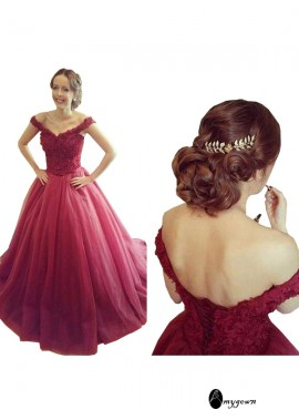 AmyGown Long Prom Evening Dress T801524704785