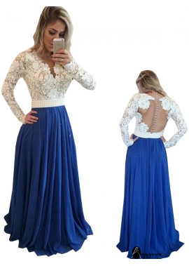 AmyGown Long Prom Evening Dress T801524703855
