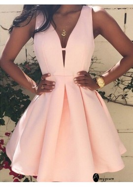 AmyGown Short Homecoming Prom Evening Dress T801524710120
