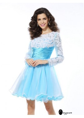 AmyGown Sexy Short Homecoming Prom Evening Dress T801524711119