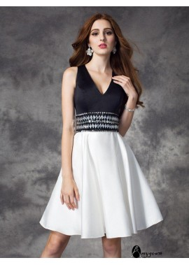 AmyGown Sexy Short Homecoming Prom Evening Dress T801524710946