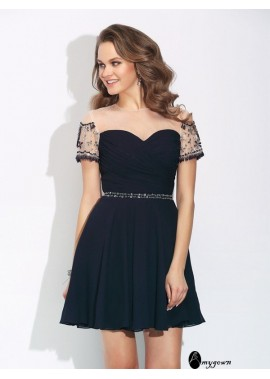 AmyGown Short Homecoming Prom Evening Dress T801524710650