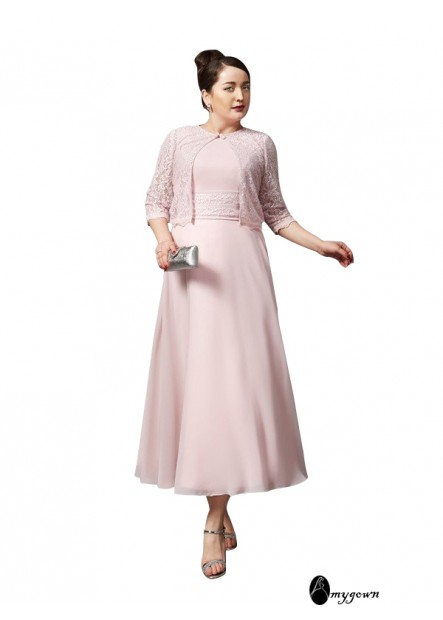 plus size mother of the bride dress T801524725195