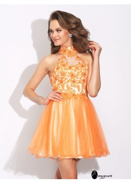 AmyGown Sexy Short Homecoming Prom Evening Dress T801524710921