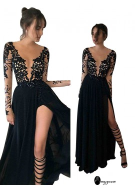 AmyGown Sexy Long Prom Evening Dress T801524703726