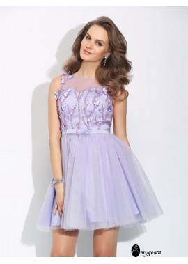 AmyGown Sexy Short Homecoming Prom Evening Dress T801524711231