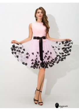 AmyGown Short Homecoming Prom Evening Dress T801524710360