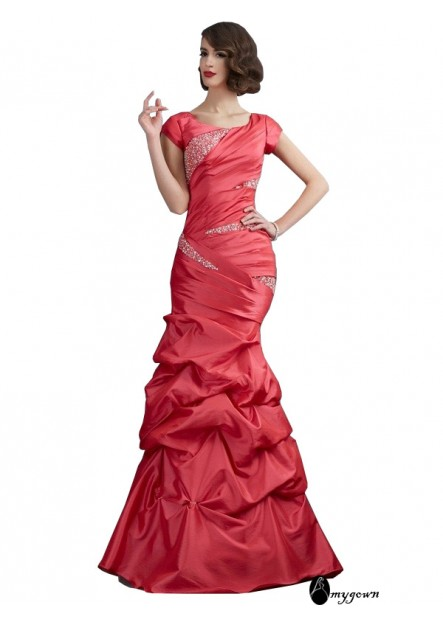 AmyGown Mermaid Long Prom Evening Dress T801524707275
