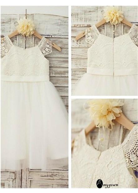AmyGown Flower Girl Dresses T801524726330