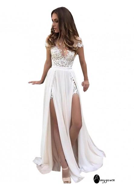 AmyGown 2021 Beach Wedding Dresses T801524714623