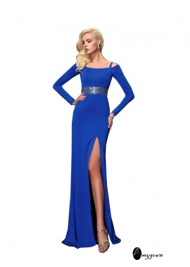 AmyGown Sexy Long Prom Evening Dress T801524706449