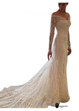 AmyGown 2021 Beach Lace Wedding Dresses T801524714687