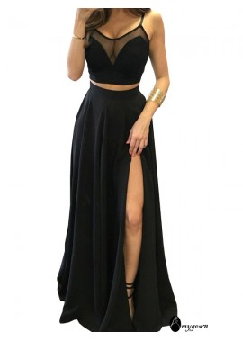 AmyGown Two Piece Long Prom Evening Dress T801524703747