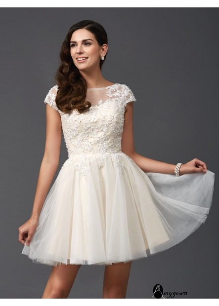 AmyGown Sexy Short Homecoming Prom Evening Dress T801524710265