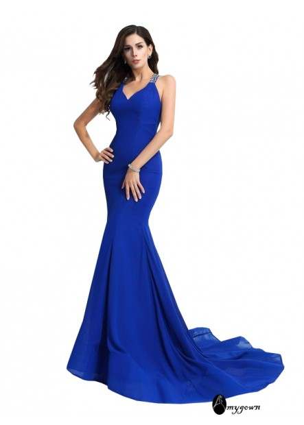 AmyGown Sexy Mermaid Prom Evening Dress T801524704226
