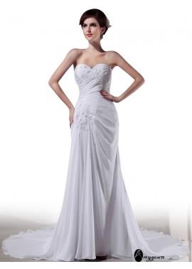 AmyGown Beach Wedding Dresses T801524715727