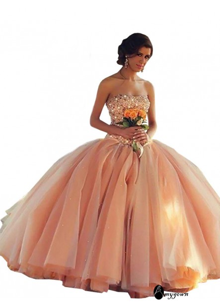 AmyGown Long Prom Evening Dress T801524704087