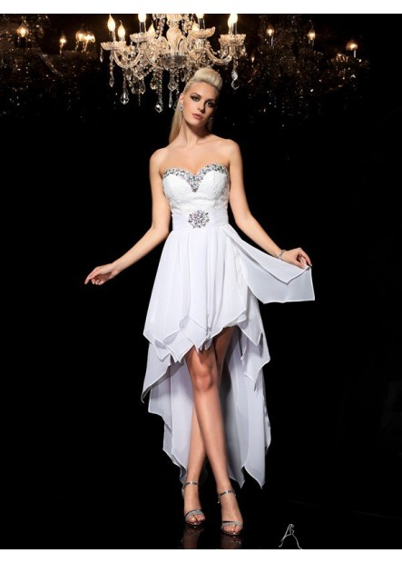 AmyGown Short Homecoming Prom Evening Dress T801524710229