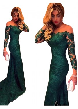 AmyGown Sexy Mermaid Long Prom Evening Dress T801524703707