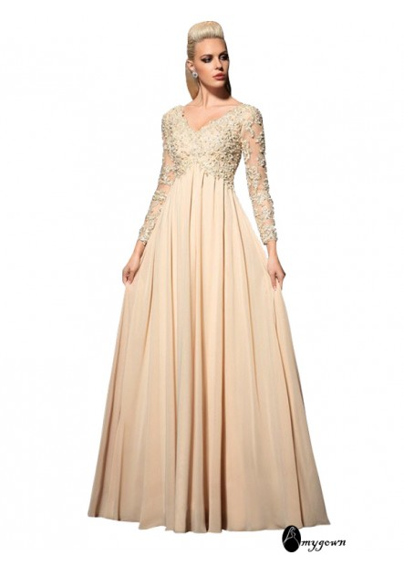 AmyGown Long Prom Evening Dress T801524709707
